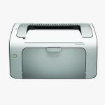 پرینتر اچ پی P1102 | تک کاره | سیاه و سفید | لیزری
