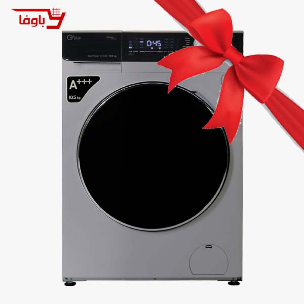 ماشین لباسشویی | جی پلاس | 10.5 کیلویی | مدل GWM-K1058T