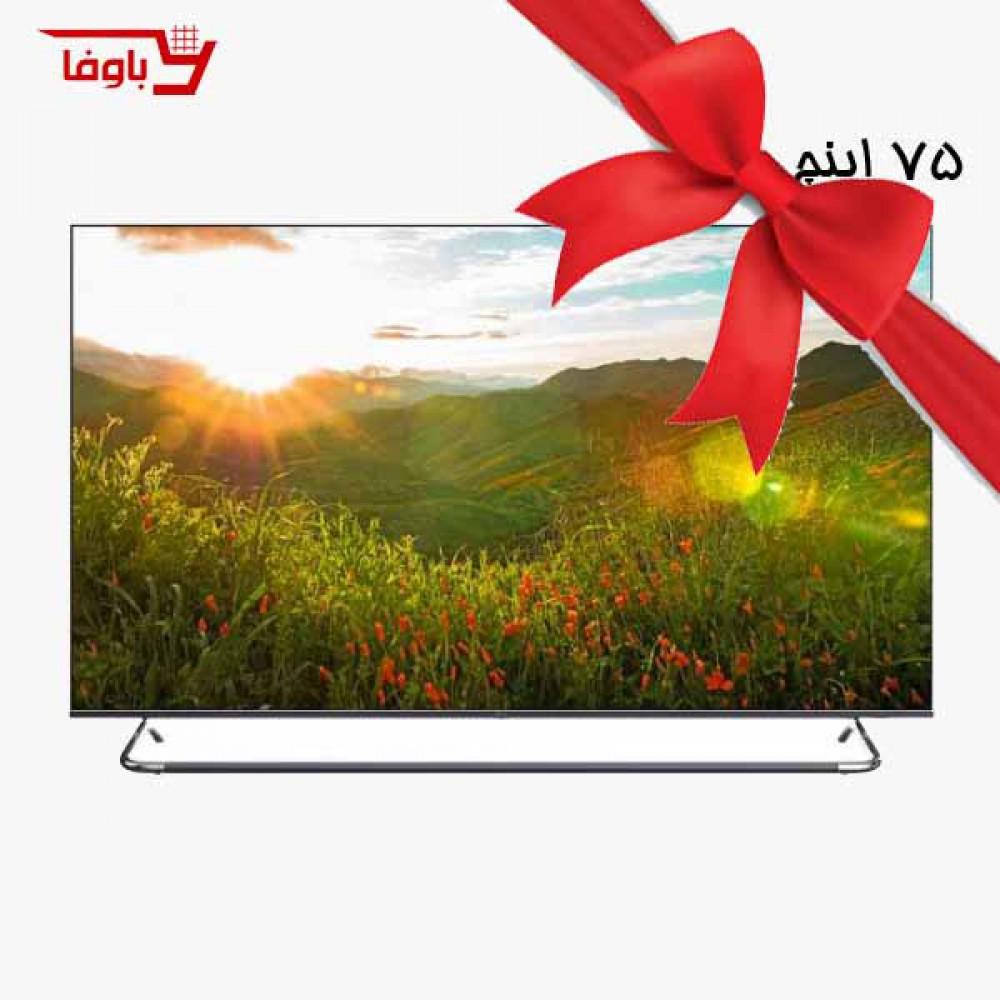 تلویزیون جی پلاس   هوشمند   GTV-75KE821S  سایز 75 اینچ   ELED
