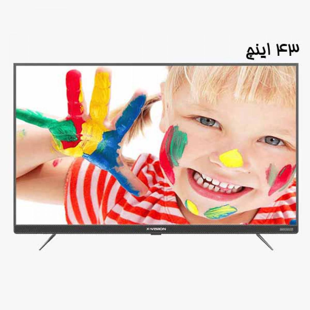 تلویزیون ایکس ویژن | هوشمند | مدل 43XT745 | سایز 43 اینچ