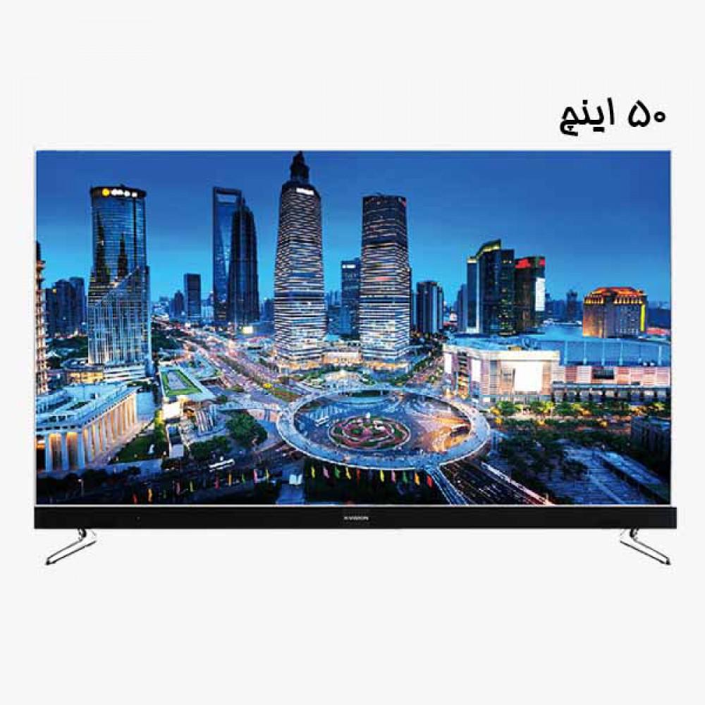 تلویزیون ایکس ویژن | هوشمند | مدل 50XKU575 | سایز 50 اینچ