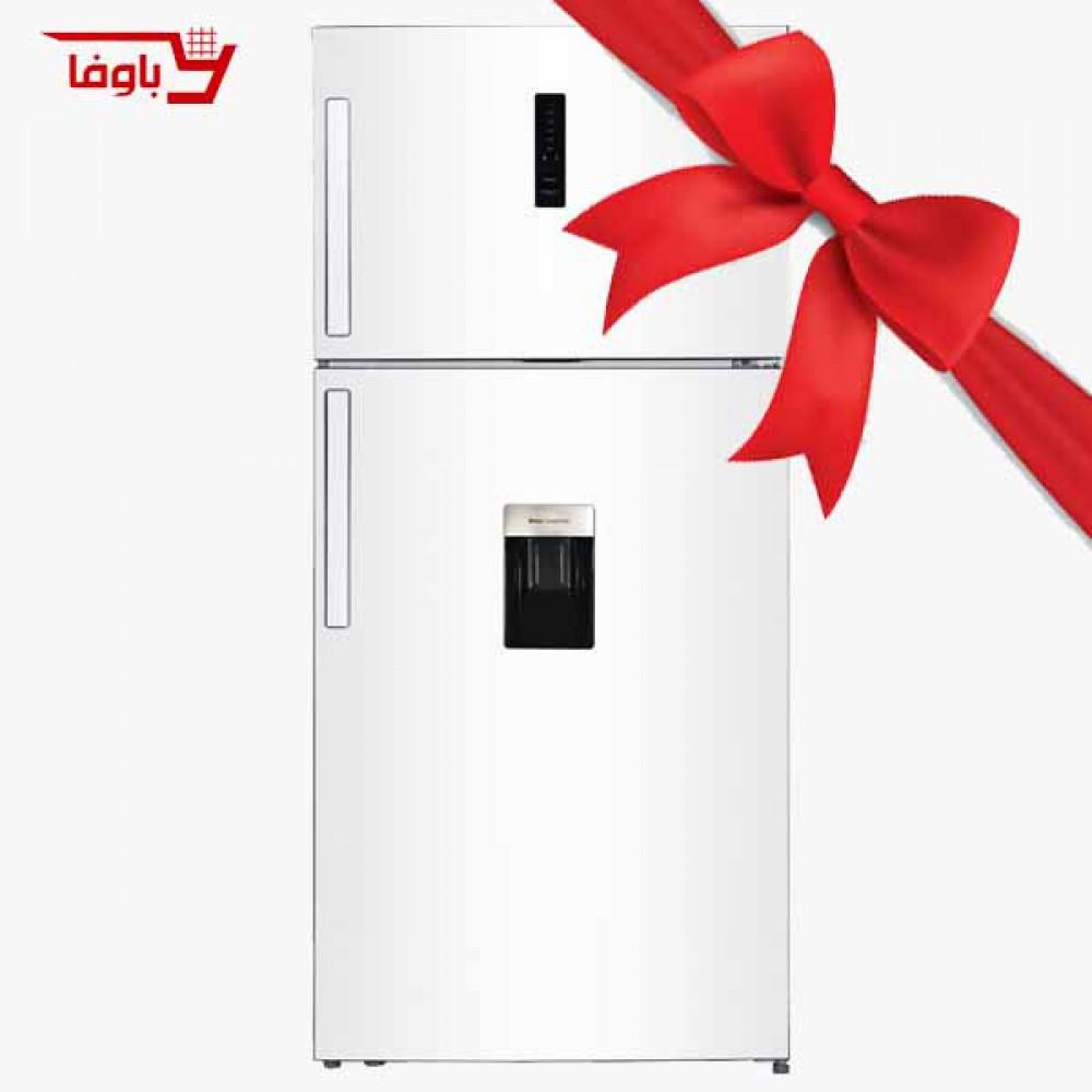یخچال و فریزر   جی پلاس   مدل K515W   بالا فریزر   رنگ سفید